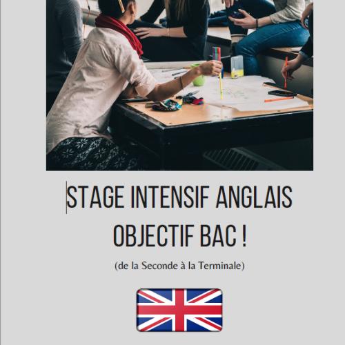 "CCFB // Stage intensif spécial lycéens  ""Objectif BAC"""