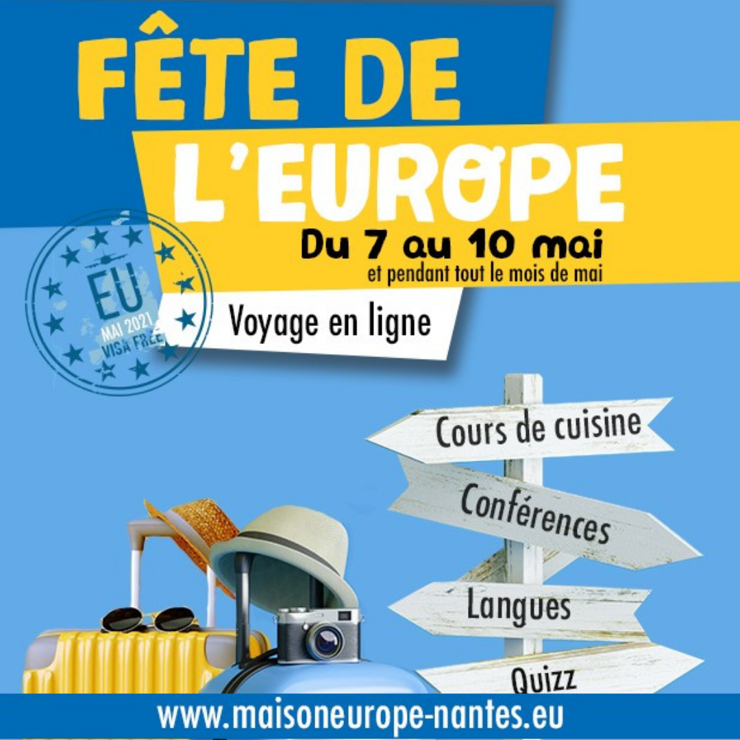 Fête de l'Europe : Voyage en ligne !