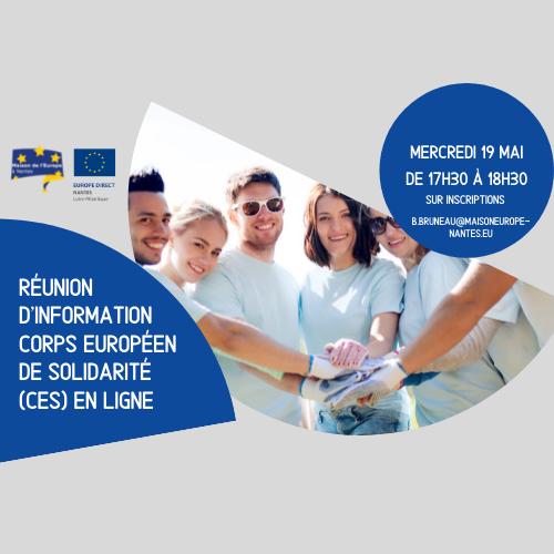 Réunion d'information CES via Zoom - 19/05
